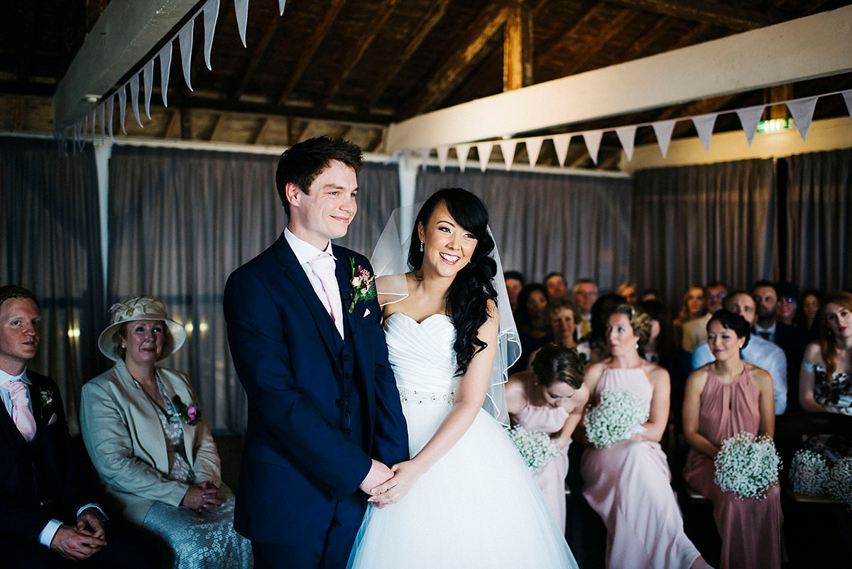 A Charming and Pastel Pretty Seaside Wedding in Whitstable (Weddings )