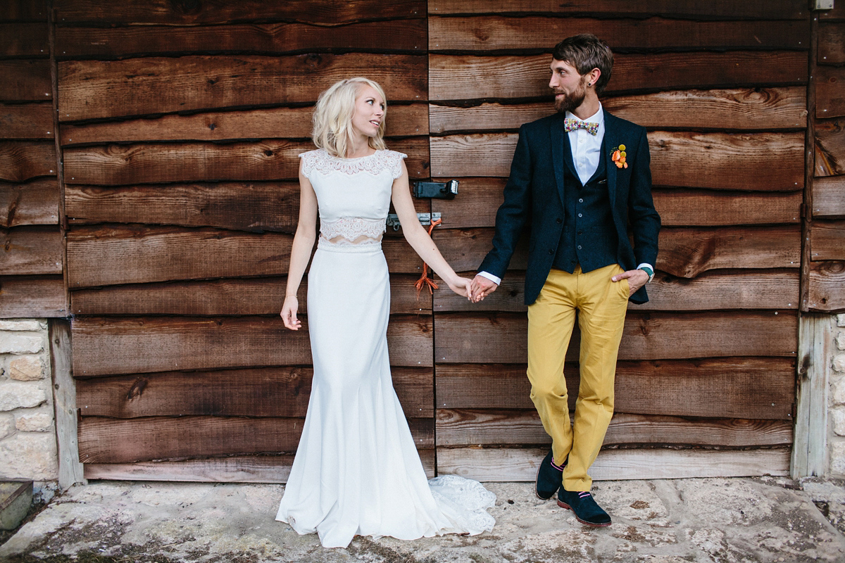 Rime Arodaky Bridal Separates For a Colourful and Quirky Wedding (Weddings )