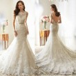 Best Lace Mermaid Wedding Dresses