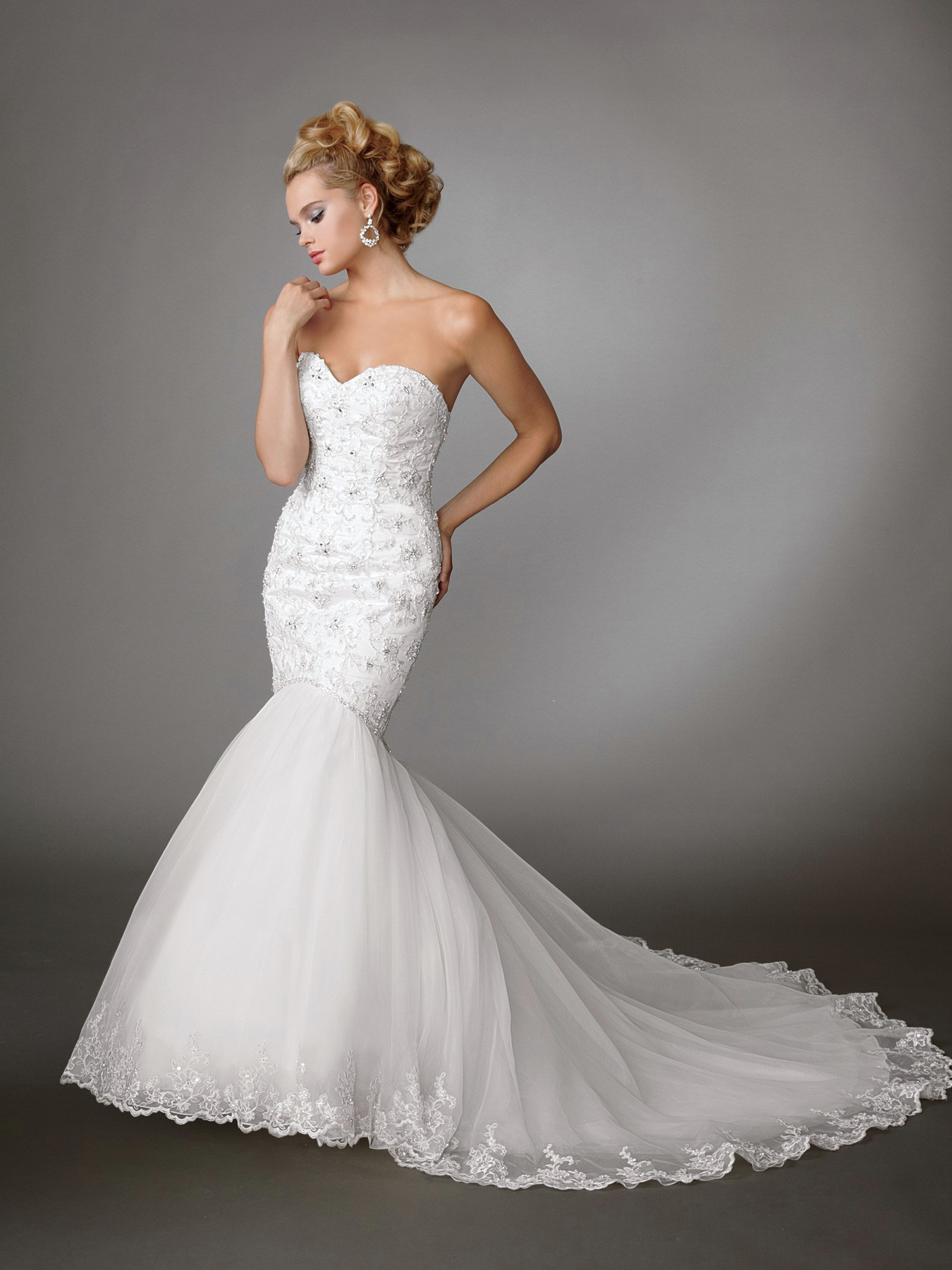 Best lace mermaid wedding dresses cheap wedding dresses for Wedding dresses boston cheap
