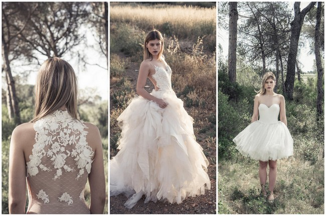 Previewing Ramón Herrerías 2016 'Ellas' Wedding Dress Collection