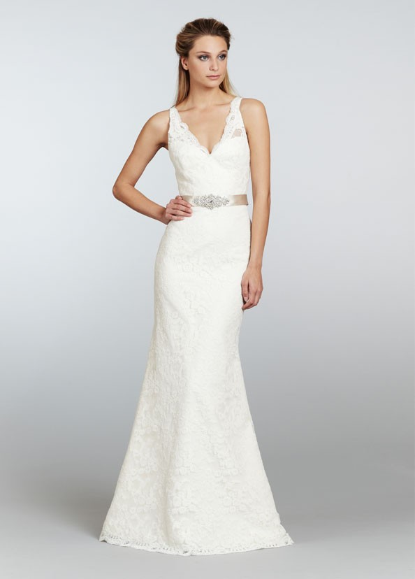 Pretty Sheath Wedding Dresses