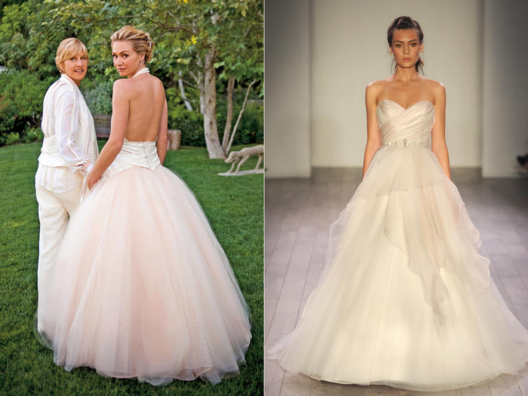 Blush Ball Gown Wedding Dress: The Most Iconic Wedding Dresses Of All Time