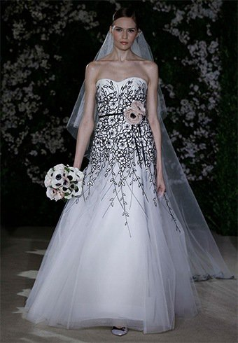 Carolina Herrera's Eva Wedding Dress