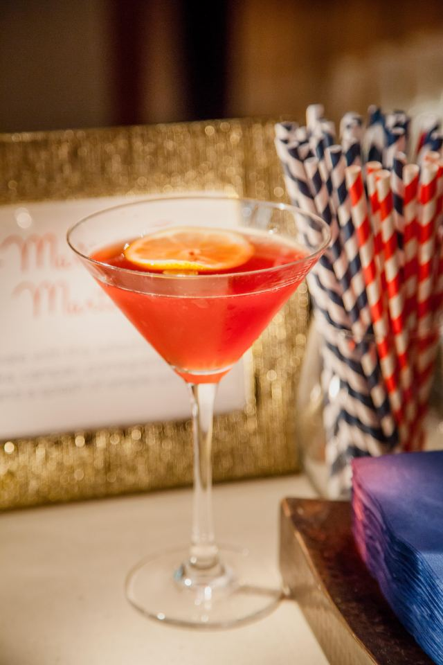 American Inspired Wedding Drinks
